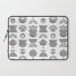 semicircle pattern Laptop Sleeve