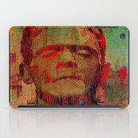 frankenstein iPad Cases featuring frankenstein by Ganech joe