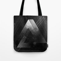 triangle Tote Bags featuring Triangle by Guilherme Rosa // Velvia