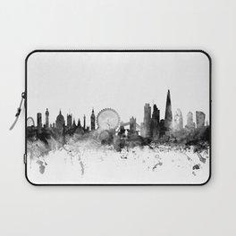 London England Skyline Laptop Sleeve