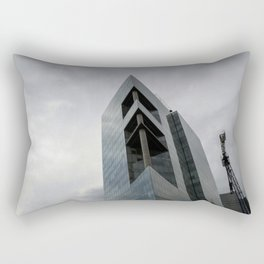 Rising Monsters in the City Rectangular Pillow
