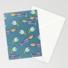 Bizarre Fishes Stationery Cards