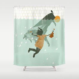 WATER DREAM Shower Curtain