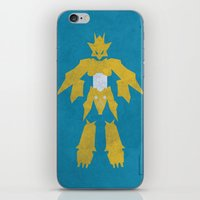 digimon iPhone & iPod Skins featuring Magnamon by JHTY