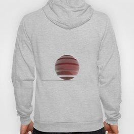 Sliced Red Sphere Hoody
