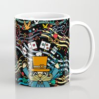 carnival Mugs featuring Carnival by Kakel