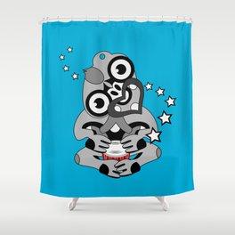 Hei Tiki New Zealand Drum Shower Curtain