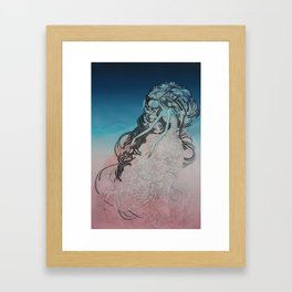 Snow Egrets III Framed Art Print