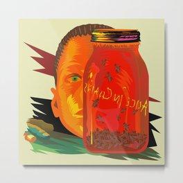Alice in Chains - Jar of Flies  (Rock Album Cover) Metal Print