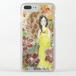 She Blooms.2 Clear iPhone Case