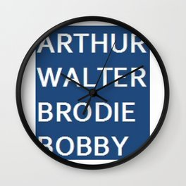 The Good, The Bad & The Dugly Wall Clock