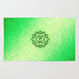 Heart Chakra by Golden Ascension Rug