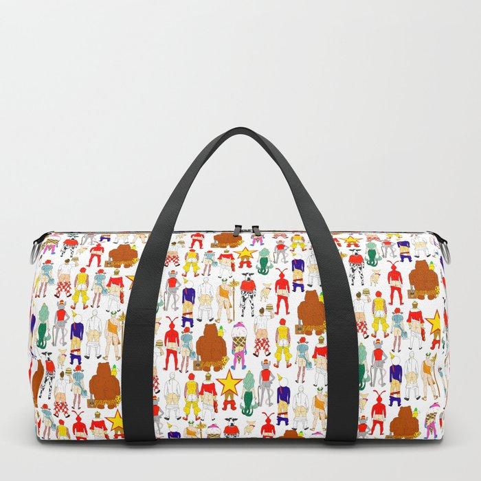 Fast Food Butts Mascots Duffle Bag