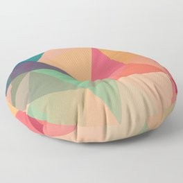 Geometric XV Floor Pillow