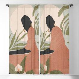 Tropical Girl 21 Blackout Curtain