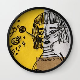 the moon is always changing. Wall Clock
