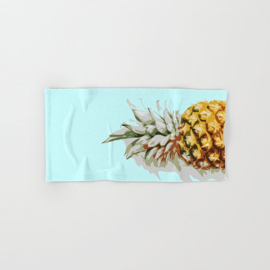Summer Ananas Hand & Bath Towel