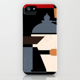 Coffee Grinder, Pot and Cezve iPhone Case