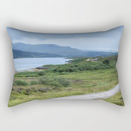 Road in the Highlands Rectangular Pillow
