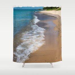 Lake_Michigan Beach, Charlevoix - II Shower Curtain