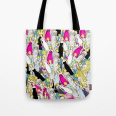 Marilyn in Bloom Tote Bag