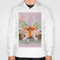 surfboard Hoodies featuring Surfing, sunglasses with surfboard  by nicky2342