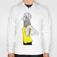 tank girl Hoodies featuring Tank by fossilized