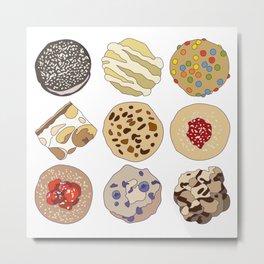 Cookie Heaven Metal Print