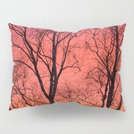 Tree Silhouttes Against The Sunset Sky #decor #society6 #homedecor Pillow Sham