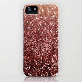Cafe Au Lait Glitter #1 #shiny #decor #art #society6 iPhone Case