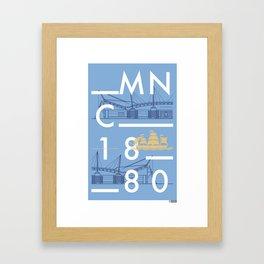 Etihad Stadium - Manchester City Framed Art Print