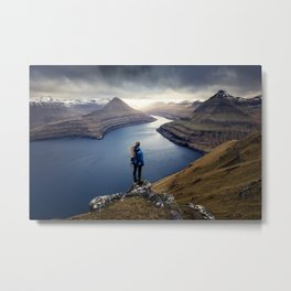 Epic Faroe Islands Metal Print