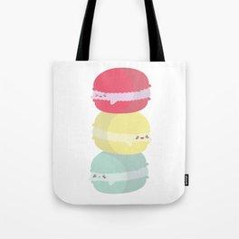 Happy Macarons Tote Bag