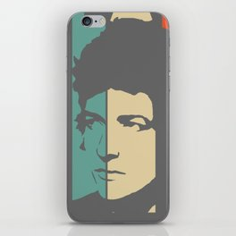 Bob Dylan Retro Homage iPhone Skin