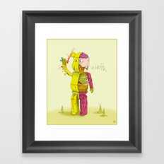 Bearbrick Framed Art Print