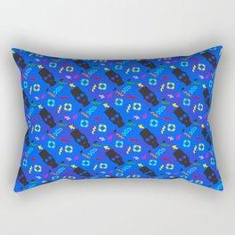 90's silhouettes Rectangular Pillow