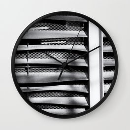 Angle of Venting I Wall Clock