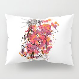 Secrets of the Geisha - Beautiful Chinese Girl Pillow Sham