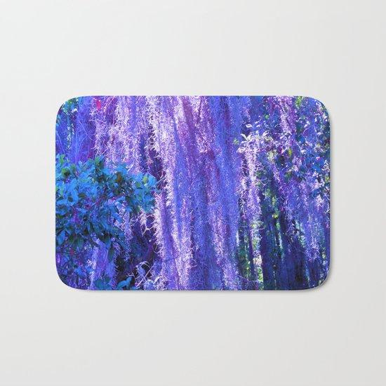 Purple moss Bath Mat