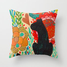Sometimes My Love Is A Wild Thing Throw Pillow