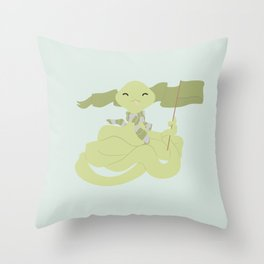 House Pride - Snake 2 Throw Pillow