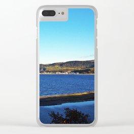 Cove Sandbar and River Clear iPhone Case