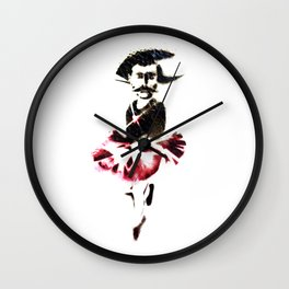 Marriage Equality Banksy style Wall Clock