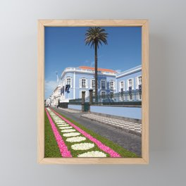 Palace in Azores Framed Mini Art Print