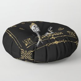 The Empress III Tarot Card Floor Pillow