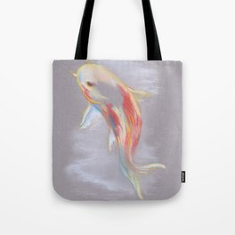 Koi Fish Swimming Tote Bag