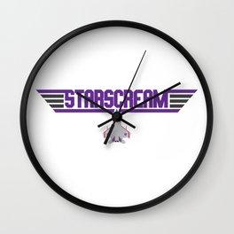 Starscream Wall Clock