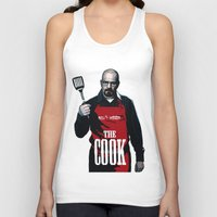 cook Tank Tops featuring The Cook by Step.