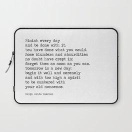 Quote Laptop Sleeve