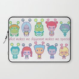 What Makes Me Different Makes Me Special Laptop Sleeve